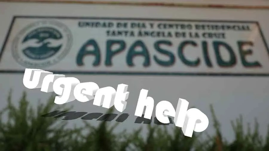 "Urgent help for the Center ""Santa Ángela de la Cruz"""