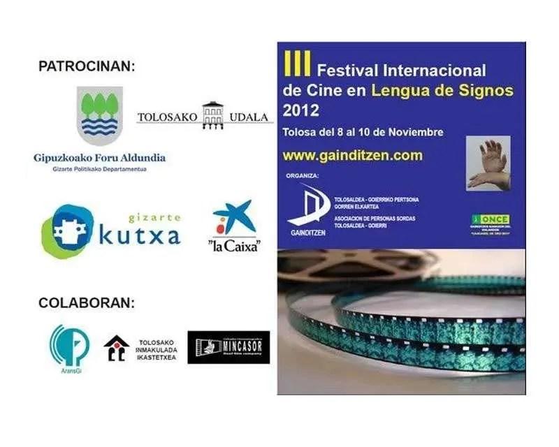 III Festival Internacional de Cine en Lengua de Signos