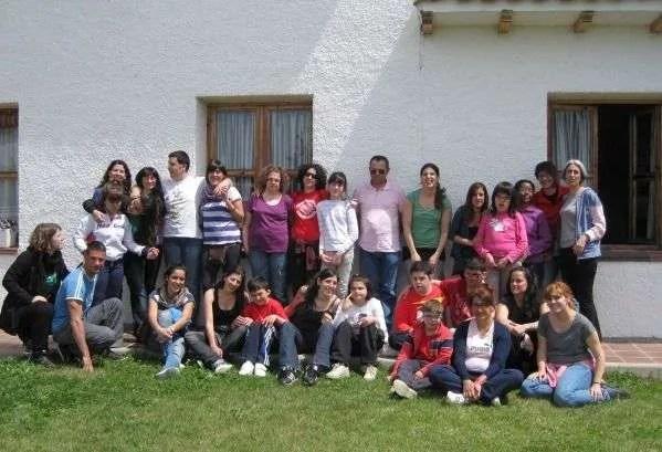 Campamento en Madrid