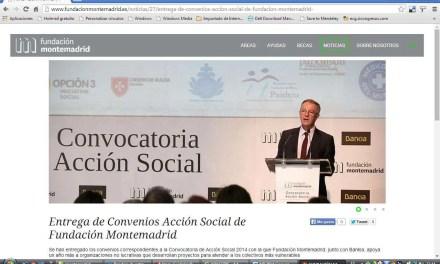 Acción social de la Fundación Montemadrid y Bankia