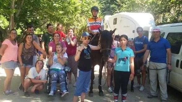 Fin de Semana de Camping en Ribeira-Galicia. Julio 2016