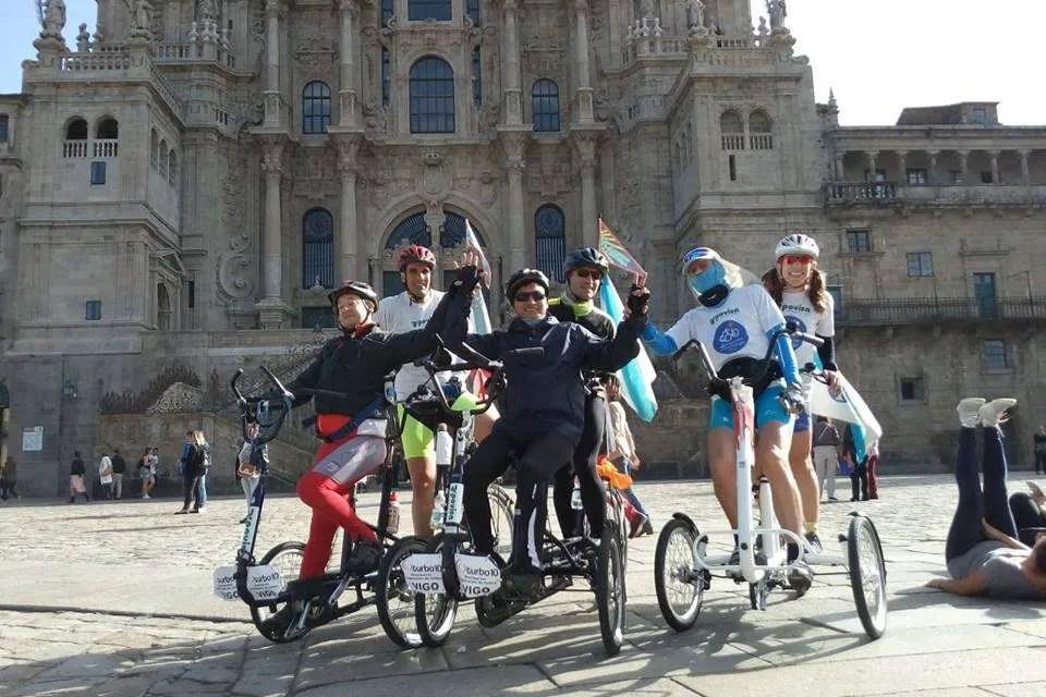 ¡El camino de Santiago en bici!