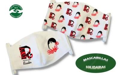 Mascarillas solidarias de Rozalén