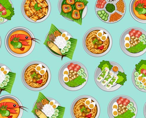 Asian Cuisine & Foods