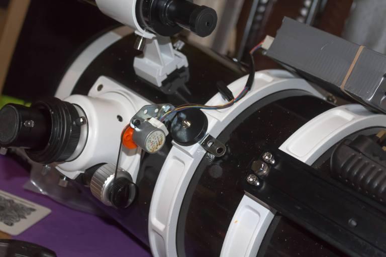 Motor Focuser mounted on Skywatcher 200PDS