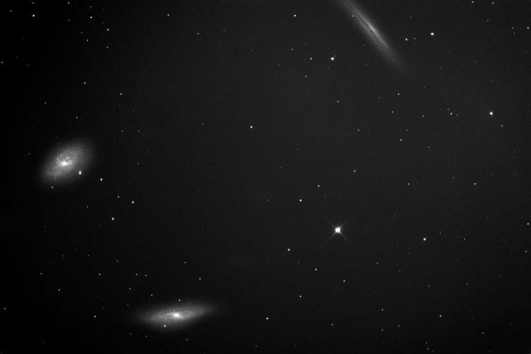 M65, M66, NGC3628: Leo Triplets