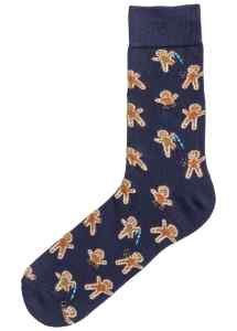 HM Christmas Jacquard-knit socks