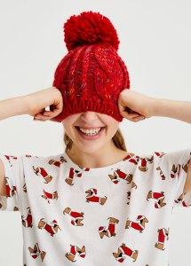 Pull&Bear Little dog Christmas T-shirt