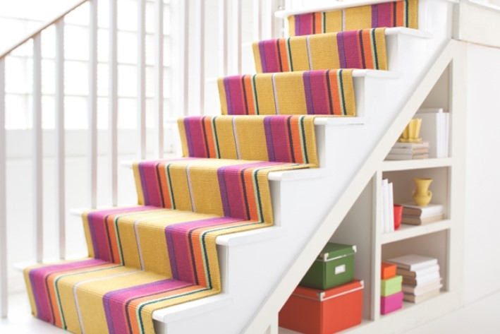 How To Install Carpet On Stairs A Path Appears | Cutting Carpet For Stairs | Carpet Tiles | Carpet Runner | Stair Tread | Wooden Stairs | Stair Runner