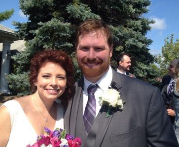 Bride and Groom Snapper Inn Wedding