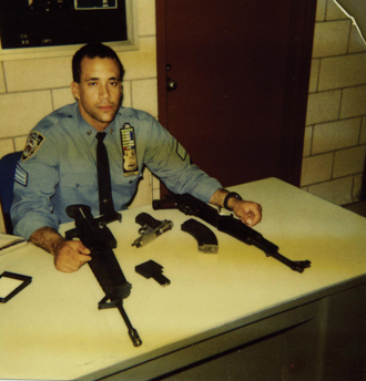 "In the late '80s, Steve was playfully referred to as ""The Gun Man"" by his fellow officers."