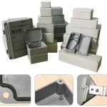 Aluminium Vandtæt Montagekasser