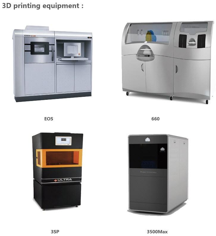 Prototyper udført i 3 D Printing