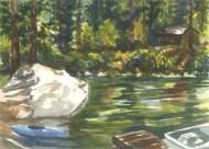 Light at Yosemite Lakes Kayak