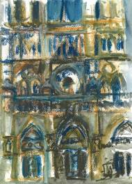 Notre Dame Cathedral Face 1