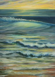 """20"""" x 28"""" A studio piece created by Ron Libbrecht using pastels."""