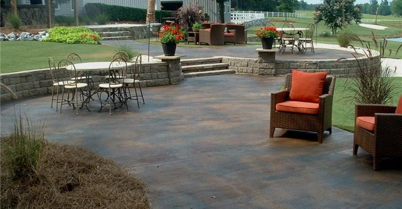 stained concrete all pro decks and patios