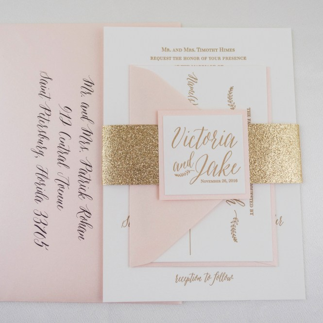 Silhouette Wedding Invitations By Branco Prata Via Oh So Beautiful Paper 2