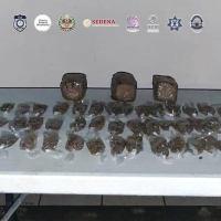 A proceso hombre con dos kilos de marihuana en Puente de Ixtla