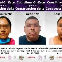 Detiene UECS a tres extorsionadores en Mazatepec