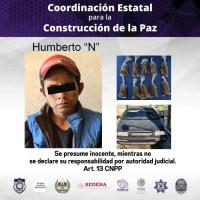 Detienen a Humberto con 10 bolsas de marihuana en Tepoztlán