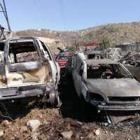 Se incendia corralón en Jiutepec