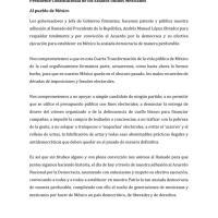 Se une Morelos al Pacto Nacional por la Democracia