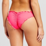 ruched swim bottoms