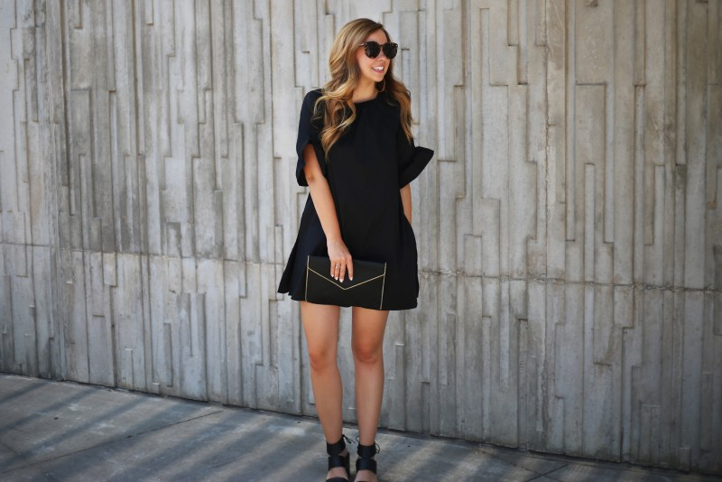 Head-To-Toe Black - A Pearl Kind of Girl