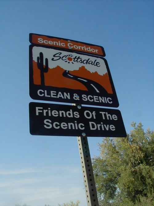 Friends of the Scenic Drive Sign