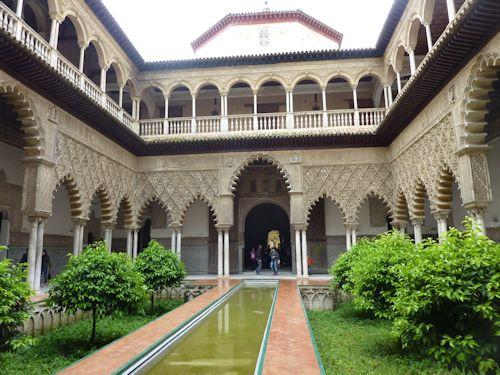 Alcaza in Seville
