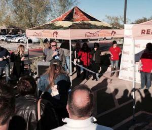Scottsdale Mayor Jim Lane Speaks to Guests