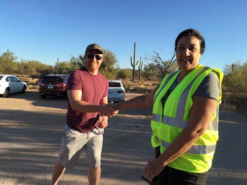 Will Randolph, City of Scottsdale Planner & Gina Kulp