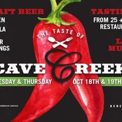2017 Taste of Cave Creek, October 18 -19 at Stage Coach Village