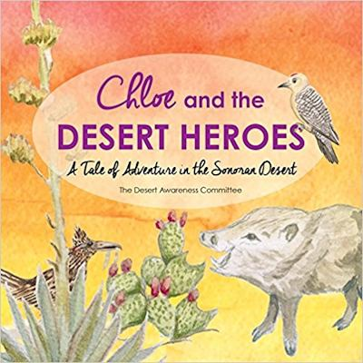 "Photo of Cover of ""Chloe and the Desert Heroes"""