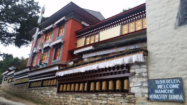 Namche Monastery