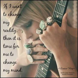 I change my life when I change my thinking. I am Light. I am Spirit. I am a wonderful, capable being. And it is time for me to acknowledge that I create my own reality with my thoughts. If I want to change my reality, then it is time for me to change my mind.