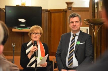 Mairead McGuinness, Irish Vice-President of the European Parliament, and Herbert Dorfmann, MEP and President of the APE