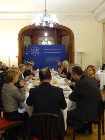 Thursday, 19 Januray 2017 - Breakfast with Wojciech Sawicki, Secretary General of the Parliamentary Assembly of the Council of Europe
