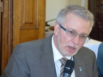 Michael Gahler, MEP and Vice-President of the APE