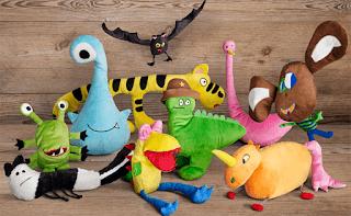 Ikea transforma 10 dibujos infantiles en peluches