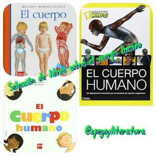 Selección de libros sobre el cuerpo humano (enfoque científico)