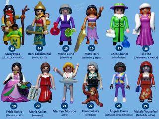 Planeta DeAgostini y Playmobil: Las mujeres también hemos hecho historia