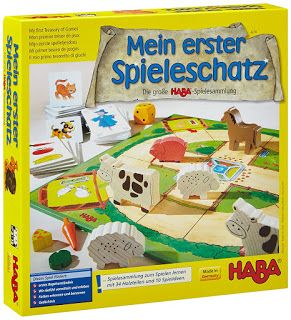 Juego de mesa «Mi primer tesoro de juegos» de Haba
