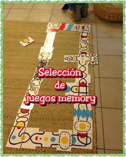 Selección de juegos «memory»