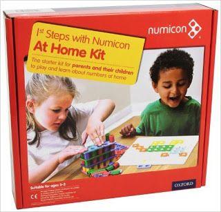 Anna Laura juega (y aprende matemáticas) con…Numicon