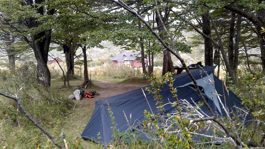 camping circuito O torres del paine dickson