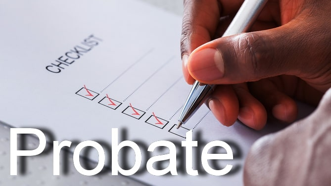 california probate checklist
