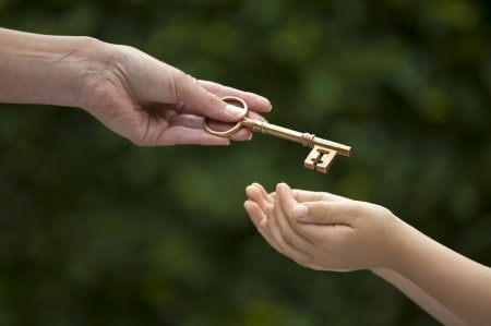 when a minor inherits property