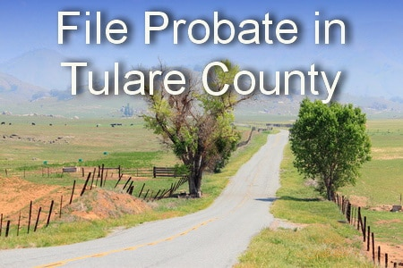 file probate in tulare county
